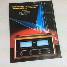 McIntosh MC 7270 Power Amp Equipment Product 6 pages brochure - original