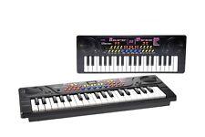 Piano Eléctrico Teclado Deluxe 37 llaves 8 canciones de ritmo de juego récord tono de demostración