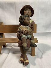"""Sarah's Attic """"Whoopie & Whooster� Shelf Figure Signed 1990 Coa"""