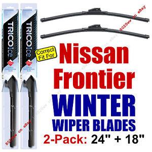 WINTER Wiper Blades 2-Pack Premium - fit 2005+ Nissan Frontier - 35240/180