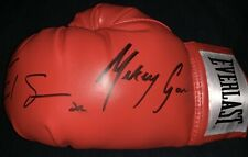 Errol Spence Jr & Mikey Garcia Dual Signed Everlast Boxing Glove