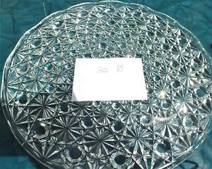 Schwere besondere Bleikristall Kristall Tortenplatte /Kuchenplatte