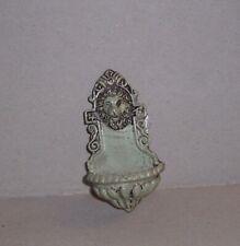 schöner Wandbrunnen -  grau -  Miniatur 1:12 - Puppenhaus