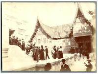 France, Paris, Exposition Universelle de 1900 Vintage citrate print.  Tirage c