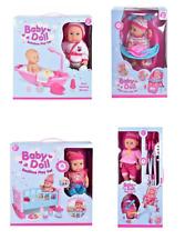Baby Doll Baño, Silla Alta, tiempo de cama, cochecito Juego Y Accesorios