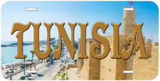 Tunisia Novelty Aluminum Car License Plate