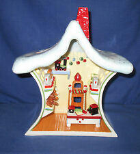 Villeroy & Boch, Christmas Toys, Santa´s Nordpol, Toys Factory, offen, Keramik