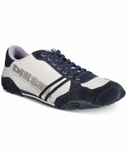 Diesel Harold Solar Men's Sneakers, color Navy / Grey, size US 10, EU 43