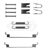 Brake Shoe Fitting Kit fits FORD FIESTA Mk5 Rear 1.4 1.4D 02 to 09 B&B 1522222