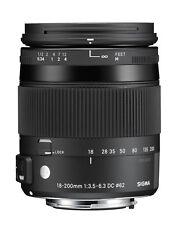 Sigma 18-200 mm DC macro HSM C lente para Sony Alpha SLR (a-Mount) Artículo nuevo