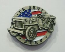 3D U.S ARMY JEEP (Badge émail / Pins)