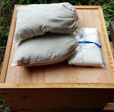 Beehive Insulation - Pure Alpaca Wool Overwinter Pillows x 2