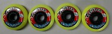 Labeda Gripper Inline Wheels - Pack of 4 Yellow/Black 80 Med