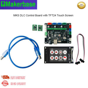 MKS DLC Control Board GRBL Offline CNC Laser Engraving board+ TFT24 Touch Screen