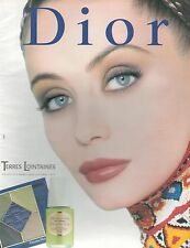 ▬► PUBLICITE ADVERTISING AD DIOR Terres Lointaines Coll. Maquillage automne 1997