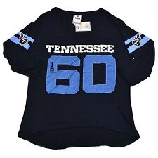 Victoria's Secret Tennessee Titans T Shirt Jersey Nfl Football Bling Tee Vs New