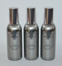 3 BATH & BODY WORKS BLACK TIE CONCENTRATED ROOM SPRAY PERFUME MIST METALLIC CAN