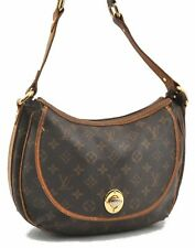 Authentic Louis Vuitton Monogram Tulum GM Shoulder Bag M40075 LV B0762