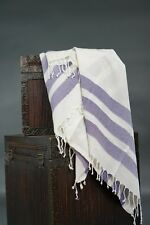 Turkish bath towel, beach cover/towel, spa towel, 100 percent BAMBOO, purple