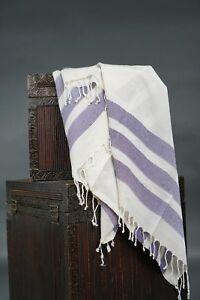 Turkish bath towel, beach cover/towel, spa towel, 100 percent BAMBOO, purple