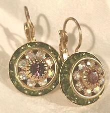 d3c534b7d Liz Palacios Rondelle Swarovski Crystal mismatch sparkle Earrings