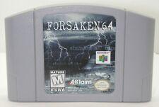 Nintendo N64 Forsaken 64 Game Cartridge. Works. R13567
