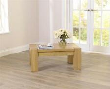 Less than 60cm High Oak Rectangle Contemporary Coffee Tables