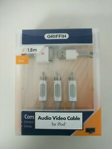 GRIFFIN COMPOSITE iPod to TV Cable- Audio Video Cable for iPod
