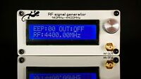 NEW 140MHZ-4400MHZ 5dBm RF Signal Generator Signal Source With Battery + Case