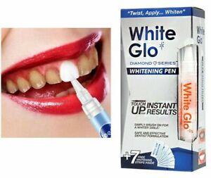 White Glo Professional Teeth Whitening Pen Immediate Results + 7 Free Stripes