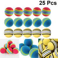 25pcs Golf Ball Durable Practical Golf Practice Ball Golf Training Ball for Home
