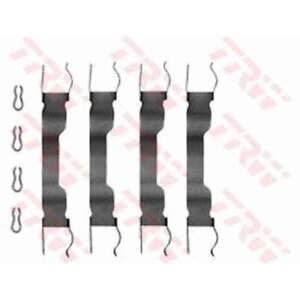 Montagesatz Anbausatz Federn für Bremsbeläge Bremsklötze TRW (PFK65)
