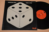MEDICINE HEAD LP THRU A 5 PROG 1°ST ORIG 1974 LAMINATED COVER EX CONDITION