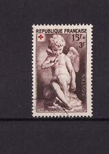 timbre France   croix rouge 1950    num: 877  oblitéré