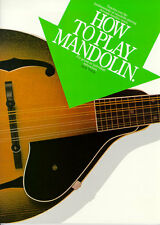 How To Play Mandolin Music Book by Jack Tottle *NEW*