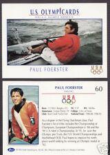 1992 OLYMPIC HOPEFULS PAUL FOERSTER SAILING CARD #60