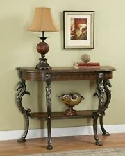 Powell Furniture Masterpiece Demilune Sofa Hall Console Foyer Table 416-225