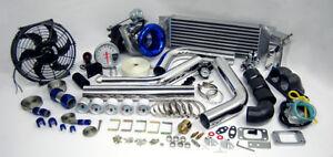 Custom Race T3T4 T3 T4 TurboCharger Turbo Boost Kit