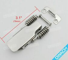 Stainless Steel Draw Latch Toggle Catch Spring Load Clamp For Heavy Duty