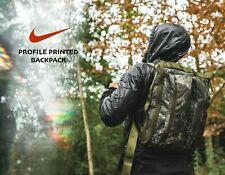 Nike Lab Profile Camo Tree Printed Backpack Green Canvas BA6379 -- Retail $125