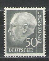 Germany - Deutsche Bundespost 1954-60 Sc# 714 MH F - Scarce Mint 50pf issue