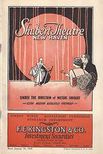 "George Abbott ""BROADWAY"" Helen Raymond / Robert W. Craig 1928 New Haven Playbill"