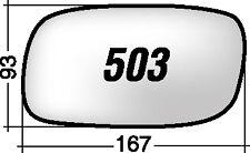 OPEL CALIBRA - ASTRA 503D RICAMBIO SPECCHIO DESTRO + BIADESIVO