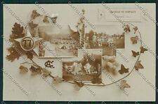 Varese Valcuvia Brenta Militari Foto cartolina QQ6780
