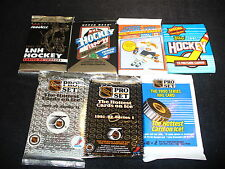 $1 Old Unopened HOCKEY CARD LOT IN PACKS Free Jersey / Auto Card every 5 lots!