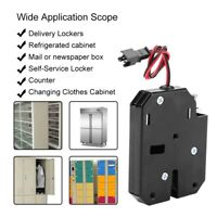 DC12V Electric Control Lock Drawer Lock Security Electromagnetic Lock 2A