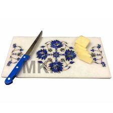Cheese platter serving Marble inlay work serving tray Cheese Chopping Board