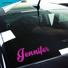 Name Custom Car Decal Your Name/Text on Car Window/Body Vinyl Decal Sticker