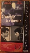 A Woman Is a Woman (VHS, 1998)