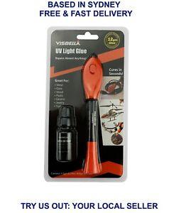 Visbella Quick 5 Second Fix UV Light Liquid Plastic Welding Compound Glue Repair